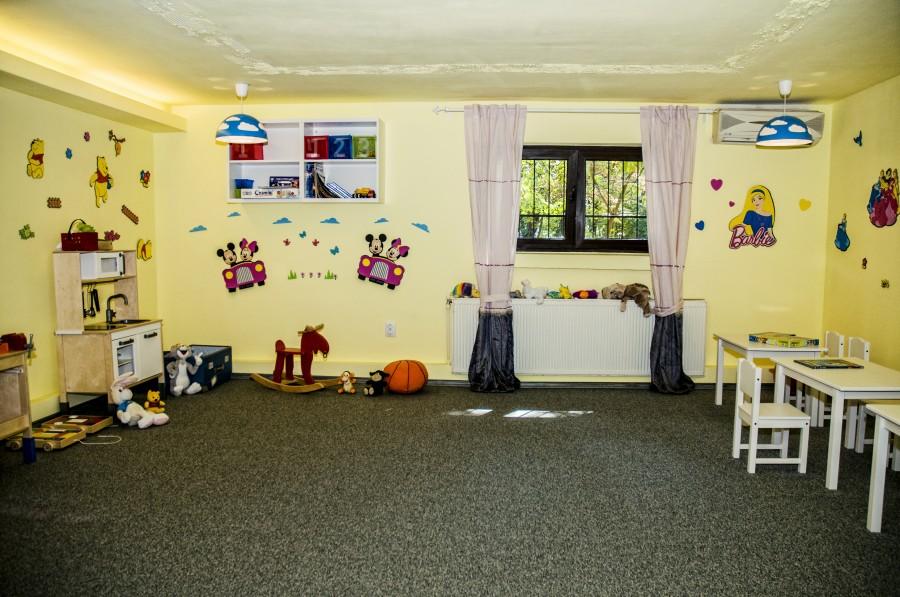 Loc de joaca pentru copii la Trattoria il Calcio Herastrau