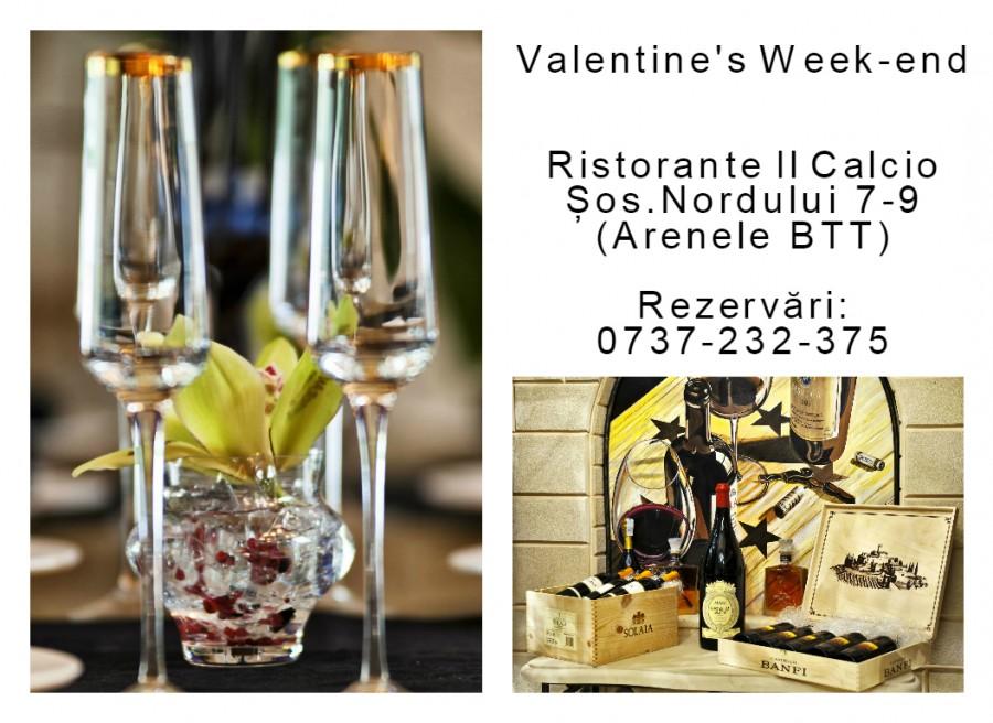 VALENTINE'S WEEK-END LA RISTORANTE IL CALCIO BTT