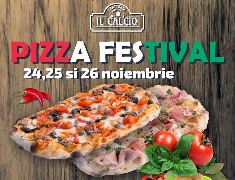 Degustare gratuită în toate locațiile Trattoria Il Calcio !
