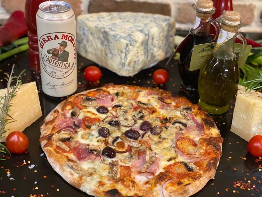 Tu iei pizza, noi iti dam berea!
