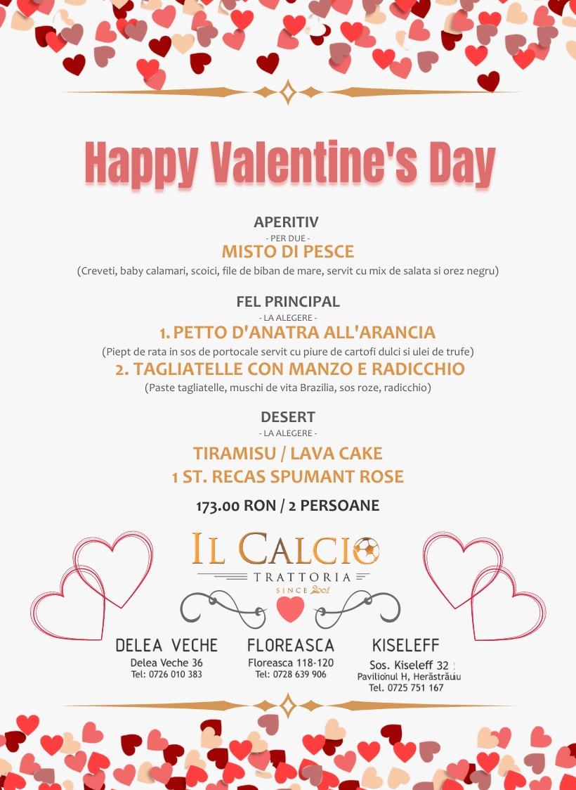 13-14 februarie 2001 – Valentine's Day la Trattoria Il Calcio